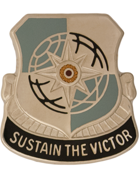 0287 Sustainment Brigade Unit Crest (Sustain The Victor)