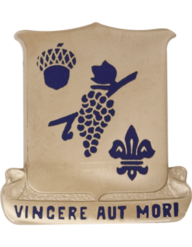 0289 Regiment Unit Crest (Vincere Aut Mori)