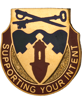 0292 Support Battalion Unit Crest (Supporting Your Intent)