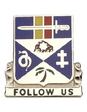 0293 Infantry Battalion Unit Crest (Follows Us)