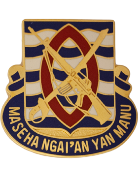 0294 Infantry Unit Crest (Maseha Ngaian Yan Manu)