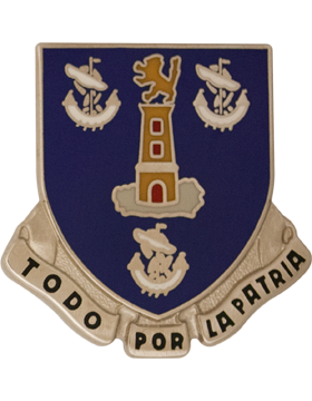 0295 Infantry Unit Crest (To Do Por La Partia)