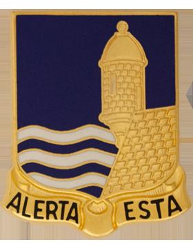 0296 Infantry Unit Crest (Alerta Esta)