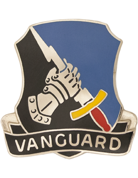 0297 Military Intelligence Battalion Unit Crest (Vanguard)