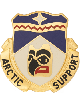 0297 Support Battalion Unit Crest (Artic Support)