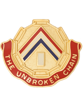 0301 Area Support Group Unit Crest (The Unbroken Chain)