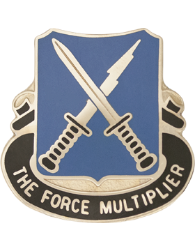 301st Military Intelligence Unit Crest (The Force Mulitplier)