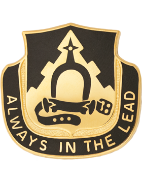 303rd Cavalry Unit Crest (Always In The Lead)