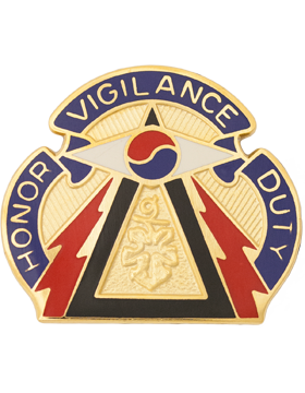 304th Military Intelligence Battalion Unit Crest (Honor Vigilance Duty)