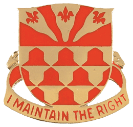 307th Engineer Battalion Unit Crest (I Maintain The Right)