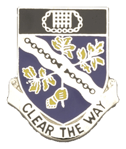 0307 Infantry Regiment Unit Crest (Clear The Way)