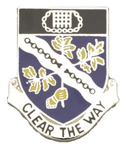 307th Infantry Regiment Unit Crest (Clear The Way)