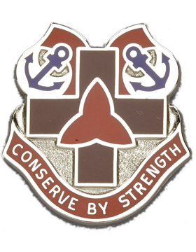 30th7 Medical Brigade Unit Crest (Conserve By Strength)