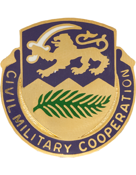 0401 Civil Affairs Bn Unit Crest (Civil MIlitary Cooperation)