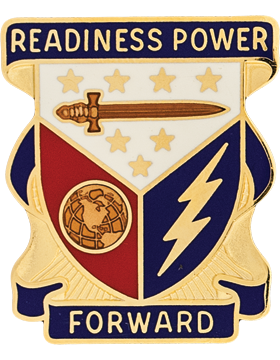 0402 Support Brigade Unit Crest (Readiness Power Forward)