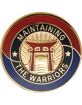 0403 Support Brigade Unit Crest (Maintaining the Warriors)