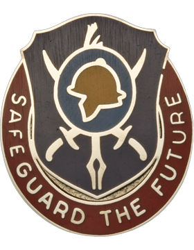 0404 Civil Affairs Battalion Unit Crest (Safeguard The Future)