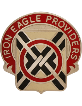0404 Support Battalion Unit Crest (Iron Eagle Providers)