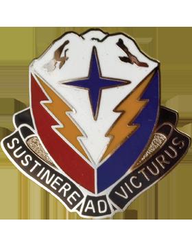 404th Support Brigade Unit Crest (Sustinere Ad Victurus)