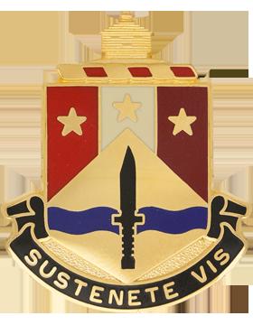405th Support Battalion Illinois Army National Guard Unit Crest (Sustenete Vis)