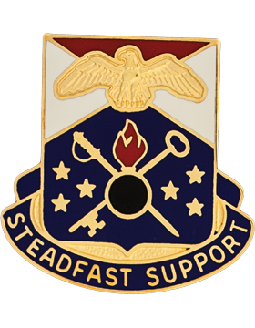 0406 Support Brigade Unit Crest (Steadfast Support)