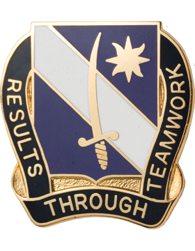 0407 Civil Affairs Battalion Unit Crest (Results Through Teamwork)