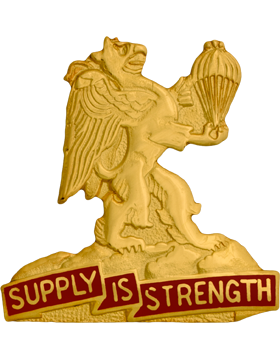0407 Support Bn (Right) Unit Crest (Supply Is Strength)