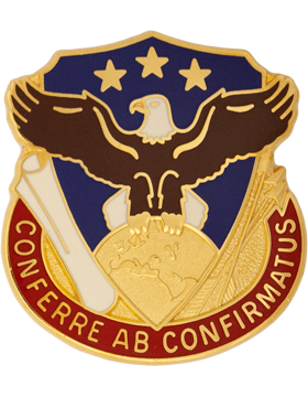 0408 Support Bde Unit Crest (Conferre Ab Confirmatus)