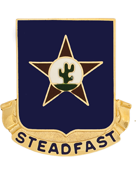 0409 Regiment Unit Crest (Steadfast)