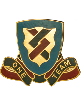 0410 Support Battalion Unit Crest (One Team)