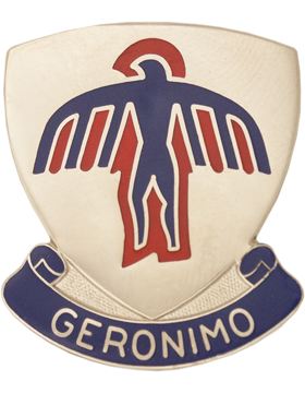0501 Infantry Unit Crest (Geronimo)