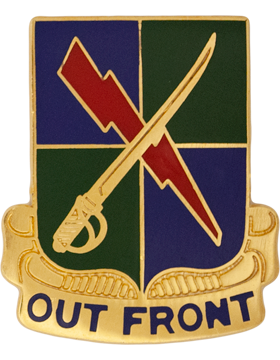 0501 Military Intelligence Bn Unit Crest (Out Front)