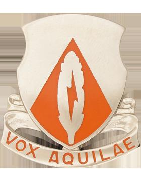 501st Signal Battalion Unit Crest (Vox Aquil Ae)