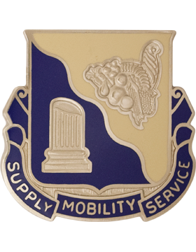 501st Support Battalion Unit Crest (Supply Mobility Service)