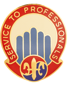 501st Sustainment Brigade Unit Crest (Service To Professionals)