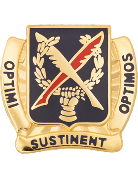 502nd Personnel Service Battalion Unit Crest (Optimi Sustinent Optimos)