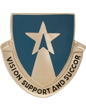 0503 Aviation Bn Unit Crest (Vision Support And Succor)