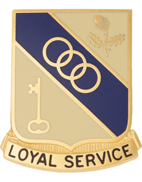 0503 Support Battalion Unit Crest (Loyal Service)