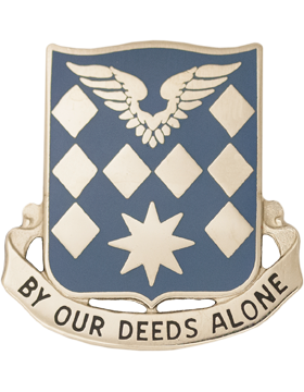0504 Aviation Battalion Unit Crest (By Our Deeds Alone)