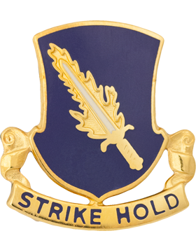 0504 Infantry Unit Crest (Strike Hold)