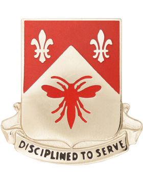 0505 Engineer Battalion Unit Crest (Disciplined To Serve)