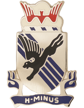 505th Infantry Unit Crest (H-Minus)