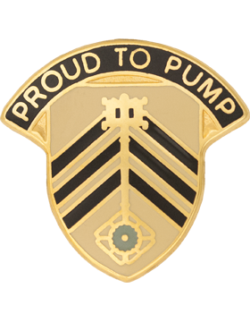 0505 Quartermaster Battalion Unit Crest (Proud To Pump)