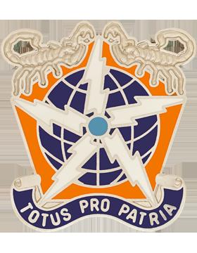 505th Signal Brigade Unit Crest (TOTUS PRO PATRIA)