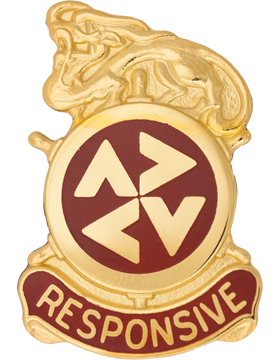 507th Support Group Unit Crest (Responsive)