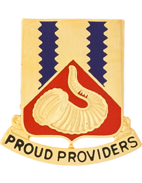 508th Support Battalion USAR Unit Crest (Proud Providers)