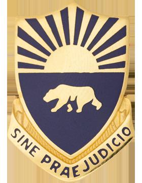 508th Military Police Battalion Unit Crest (Sine Praejudicio)