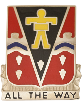 509th Infantry Unit Crest (All The Way)