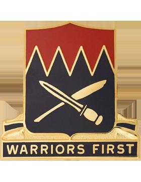 509th Personnel Service Battalion Unit Crest (Warriors First)