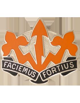 509th Signal Battalion Unit Crest (Faciemus Fortius)